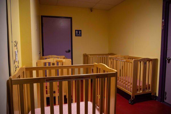 Infant Sleep Room